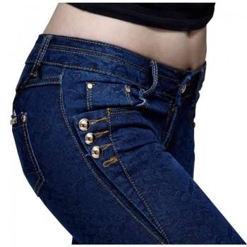 Fashion Skinny Jeans Woman Autumn